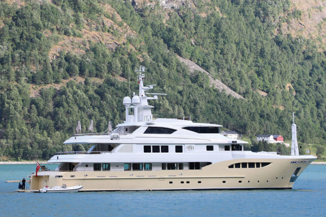 Top 100 Superyachts of Asia-Pacific: No. 79, Jade 959
