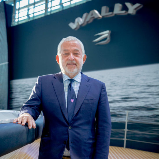 Luca Bassani founded Wally in 1994 and now his brand has the support of one of yachting's big conglomerates