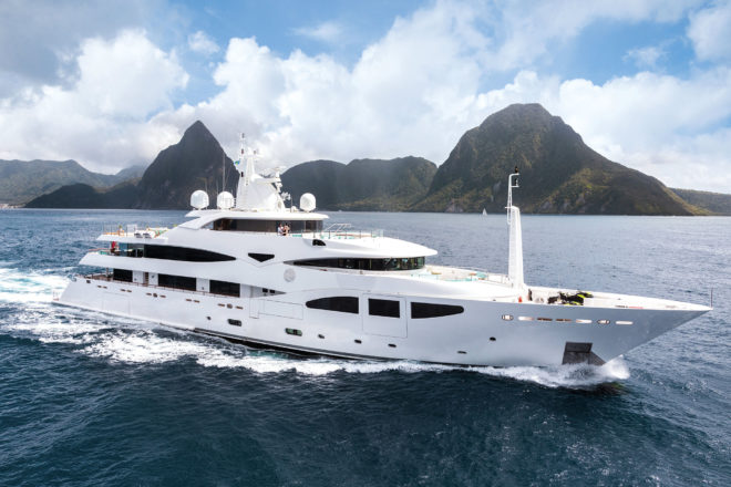 Top 100 Superyachts Asia-Pacific: 45, Ramble On Rose