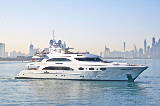 Top 100 Superyachts of Asia-Pacific 2020, No. 89 Sapphire