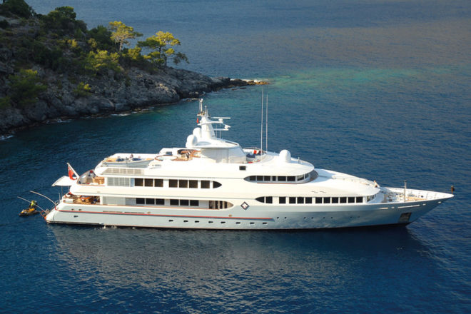 Top 100 Superyachts of Asia-Pacific: No. 67, Samax