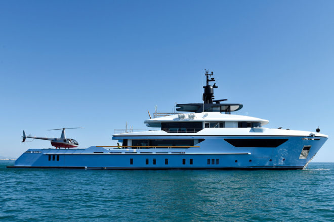 Top 100 Superyachts of Asia-Pacific 2020, No. 97 Ocean Dreamwalker 3