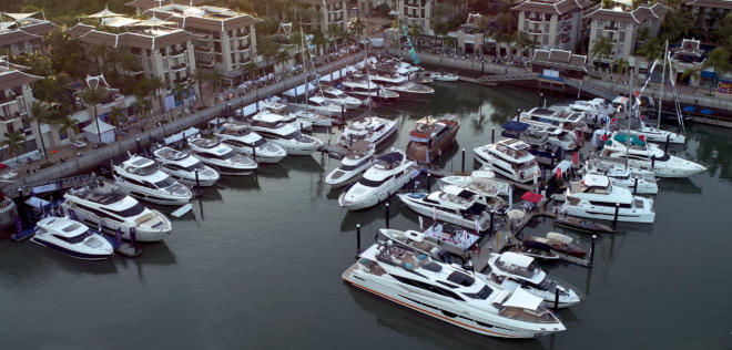 Royal Phuket Marina will host the 2020 Thailand Yacht Show from January 9-12