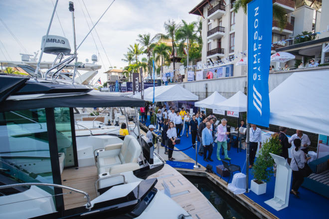 Simpson Marine looks set to have the biggest display at the fifth Thailand Yacht Show