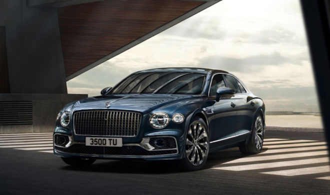 2020 Bentley Flying Spur Blackline Unveiled for the First Time in Asia Pacific