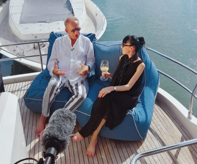Gulu Lalvani & Sarah Zhang on Yacht Life, Love The Ocean