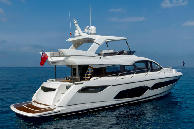 The Manhattan 68 features among eight Sunseeker yachts at Boot Dusseldorf