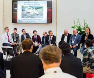 The 'End-Of-Use Boats' panel discussion at Metstrade's I-nnovationLab