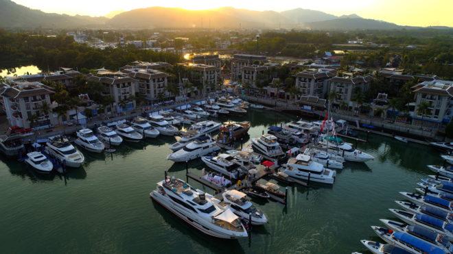 Royal Phuket Marina hosts the fifth Thailand Yacht Show from January 9-12