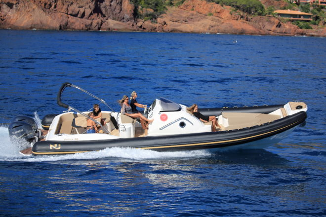 The Prince 38 Cabin from Nuova Jolly's range of inflatable boats