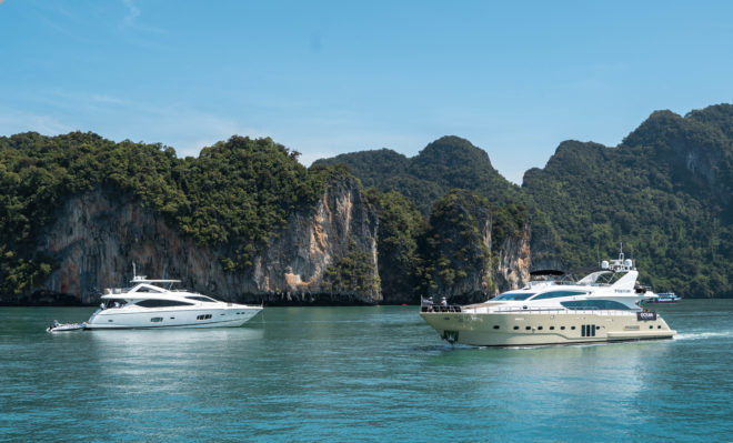Yachts at the first Thailand Charter Week in Phuket; Photos: Aaron Ross & As Credited