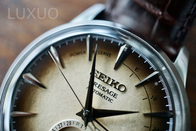 "The Seiko Presage ""Irish Coffee"" Cocktail is the brand's most Exquisite Limited Edition"