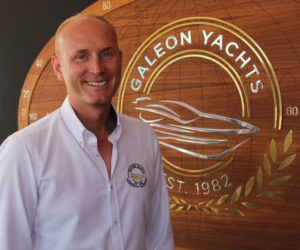 Greg Tuszynski, Managing Director of Galeon Yachts, whose dealers include Asiamarine