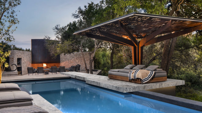 Indulge in pool time at Cheetah Plains home by ARRCC in Kruger, South Africa