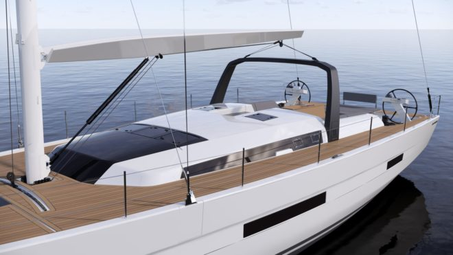 The Dufour 61 by Felci Yacht Design could launch in December or January