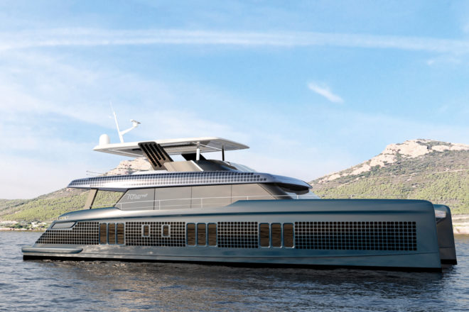 The 70 Sunreef Eco powercat is also among future models