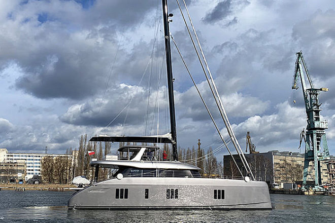 Double Happiness is the eighth Sunreef 80 hull to be completed in Gdansk