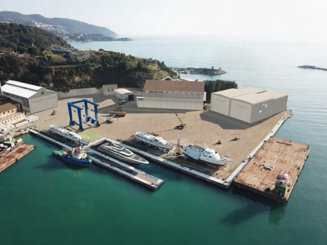 Gruppo Antonini will invest €10 million to convert the shipyard