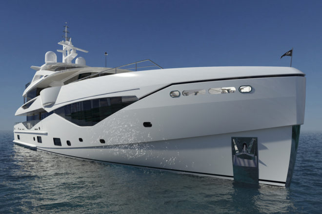Now 137ft, Sunseeker's Ocean Club 42 was formerly known as the 133 Yacht