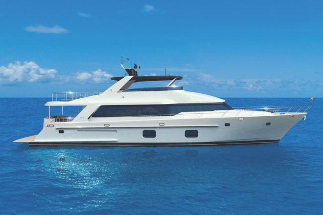 Forakis is the designer of the CLB88, scheduled for a world premiere at Fort Lauderdale