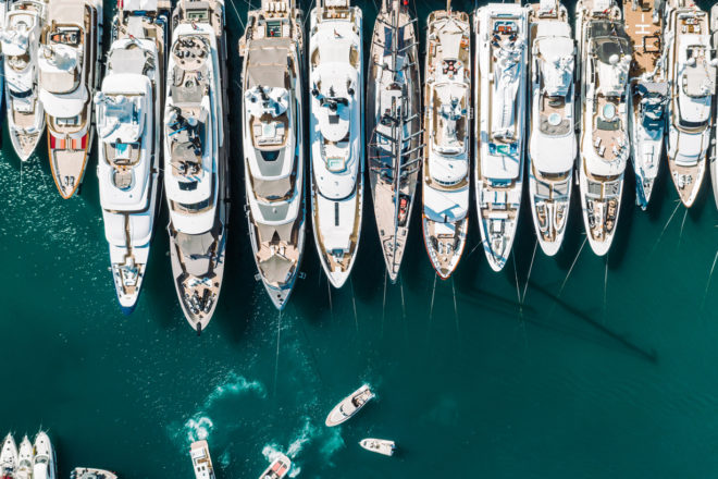 The 2020 Monaco Yacht Show is still scheduled for September 23-26