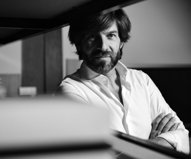 Exterior designer Filippo Salvetti is working with Custom Line for the first time