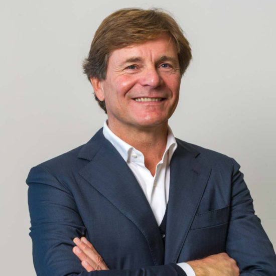 Italian Francesco Frediani, Sunseeker's Director of Superyachts & Dealer Network