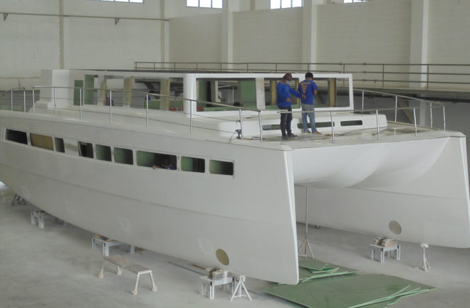 The Bakri Cono Shipyard in Thailand is building the Silent 60