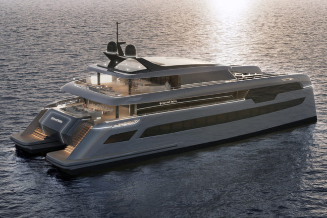 Sunreef is producing a 49M Power for a client represented by Imperial