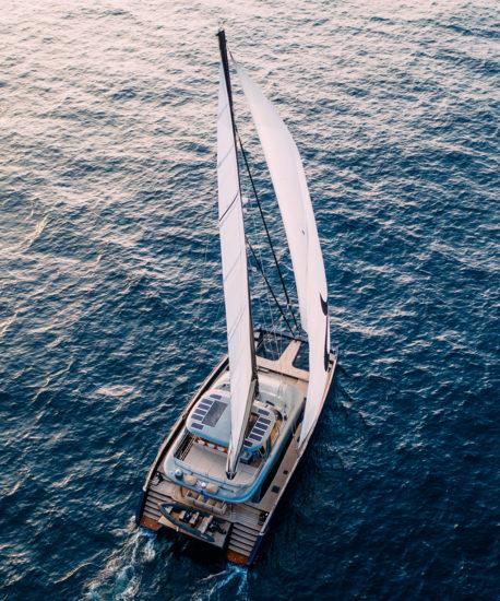 Sunreef Yachts is developing a new Eco range of catamarans; Nico Rosberg is a brand ambassador