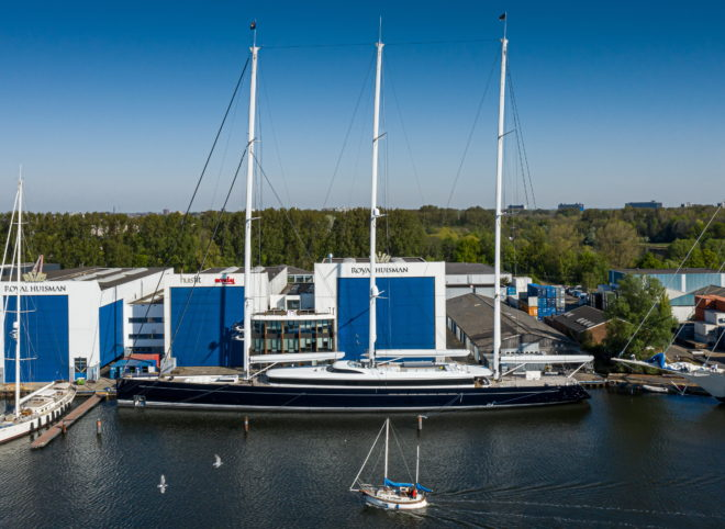 Sea Eagle II was designed by Designed by Dykstra Naval Architects and Mark Whiteley