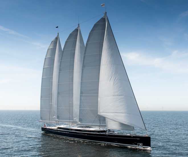 Sea Eagle II is Dr Yin's second Royal Huisman yacht; Photos: Tom Van Oossanen