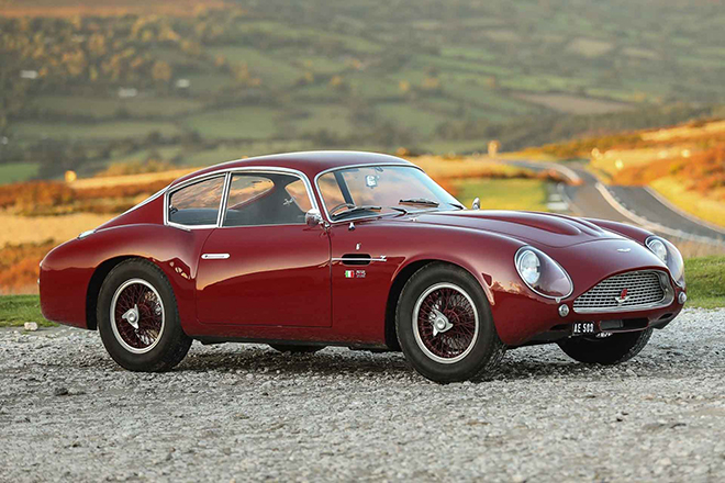The Most Original 1961 Aston Martin DB4 GT Zagato Coupe is Worth $9.1M