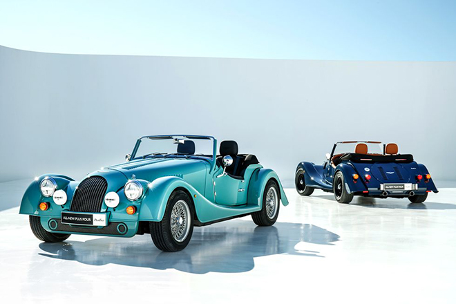 The Morgan Plus Four Is Built Stronger And Studier Than All Of Its Predecessors.