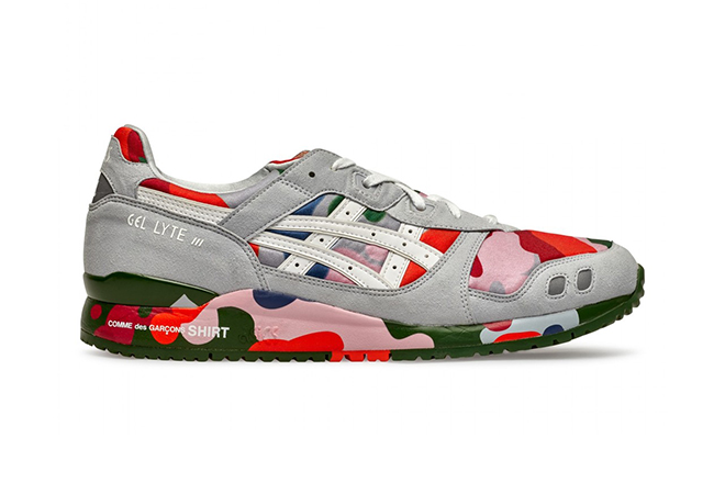 The Asics Gel Lyte III Returns in an Exclusive Collaboration With COMME des GARÇONS SHIRT