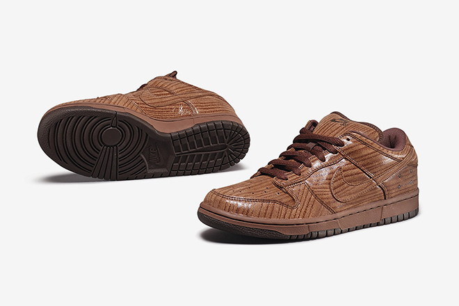 Michael Lau's Nike SB Dunk Low Pro Gardener Wood