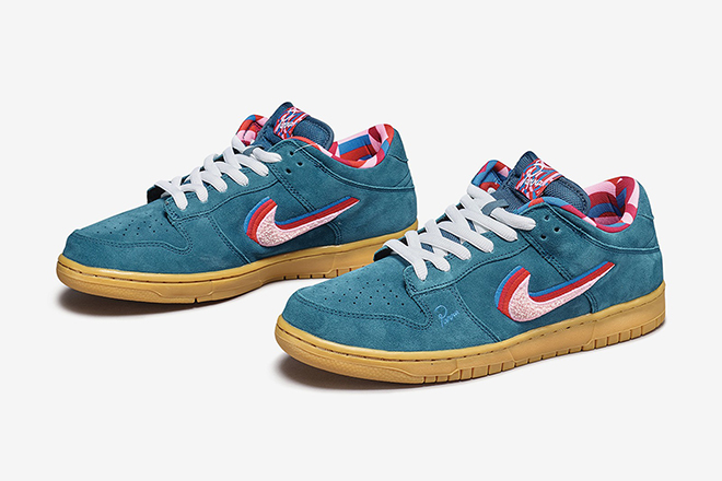 Pieter Janssen's Nike SB Dunk Low Friends And FamilyPieter Janssen's Nike SB Dunk Low Friends And Family