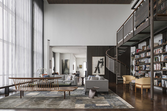 Wheeler Kearns Architects Envision The Life of An Art Lover in The Heart of Chicago