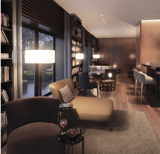 3 Orchard-By-The-Park lounge area