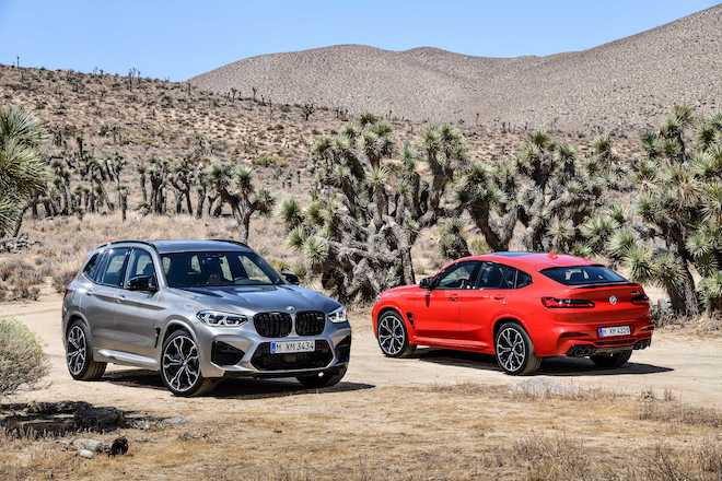 P90334962 the all new bmw x3 m competition and the all new bmw x4 m competition 02 2019