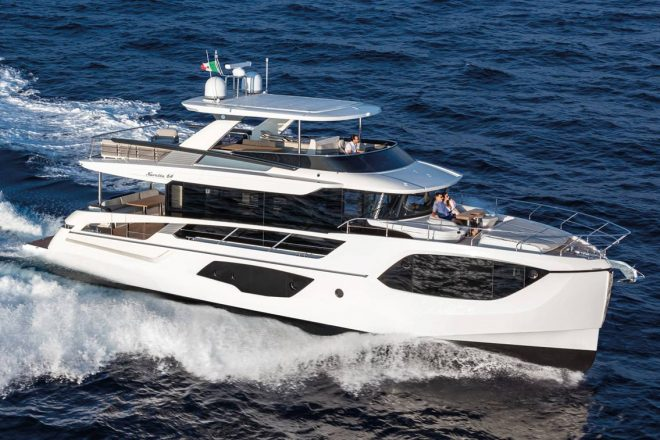 Dealer Absolute Marine has ordered a Navetta 64 scheduled to arrive in Hong Kong in late 2021