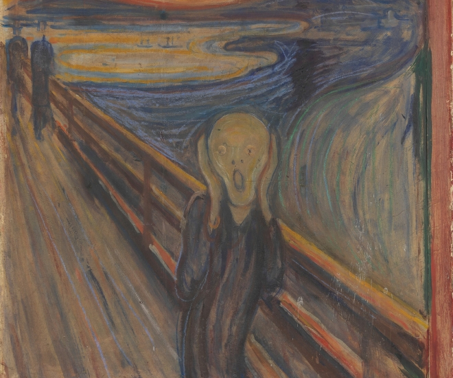 Edvard Munch?s Hidden Message