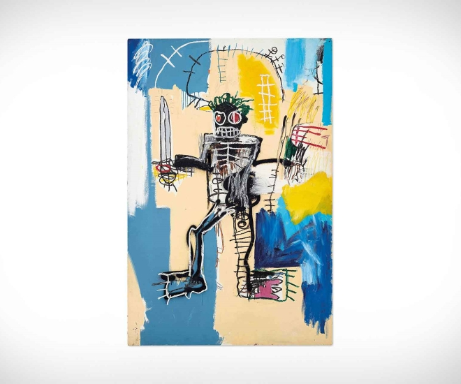 Jean-Michel Basquiat's Warrior To Be Sold In Hong Kong