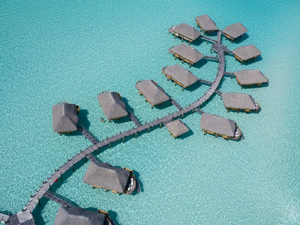 Bora Bora Pearl Beach Resort - Aerial View